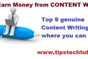 top 9 content writing sites