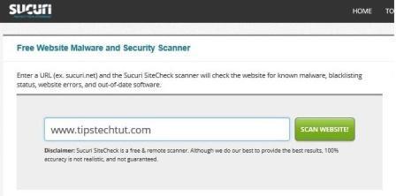 online scanner tool
