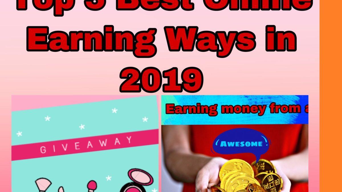 best way to earn money online